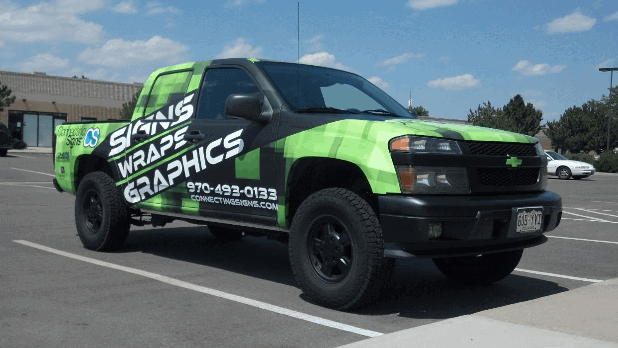 Vehicle Wrap Fort Collins - Signage Company - Connecting Signs