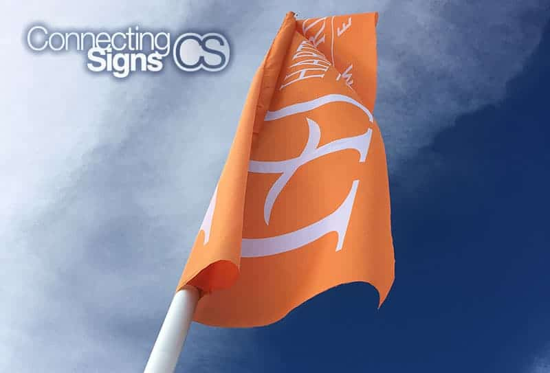 outdoor event flag